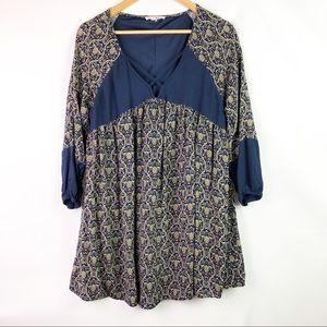 Entro Boho Style Long Tunic Top. Women's Medium